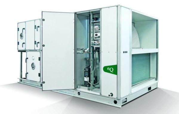 FLAKT WOODS modulārās ventilācijas sistēmas