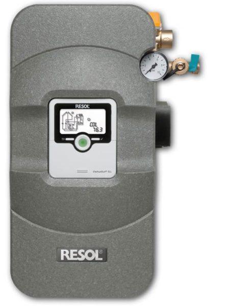 RESOL automātika saules kolektoru sistēmām