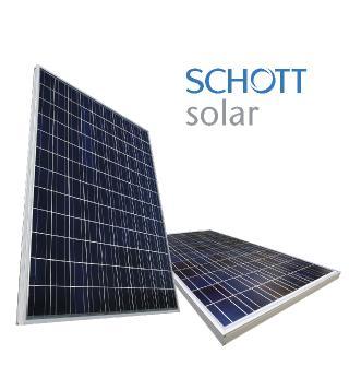 SCHOTT SOLAR saules baterijas un saules kolektori