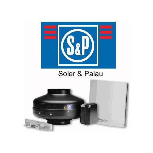 SOLER&PALAU ventilācijas sistēmas